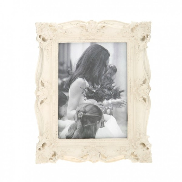 Cream Baroque Photo Frame