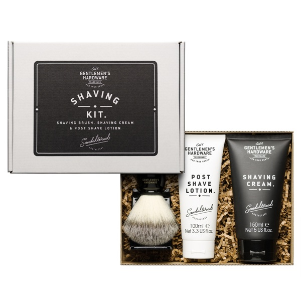 Gentleman's Hardware Shaving Kit