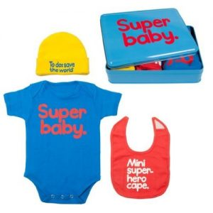 Super Baby Gift Set in Tin