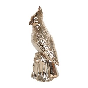 Copper Cuckatoo Ornament