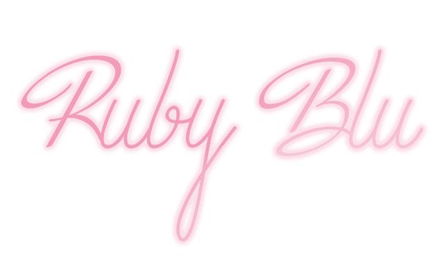 Ruby blu
