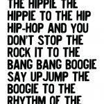 Rapper Delight print