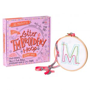 The Makery Embroidery Hoop Kit