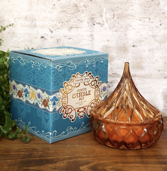 Amber Moroccan Jewel Scented Candle