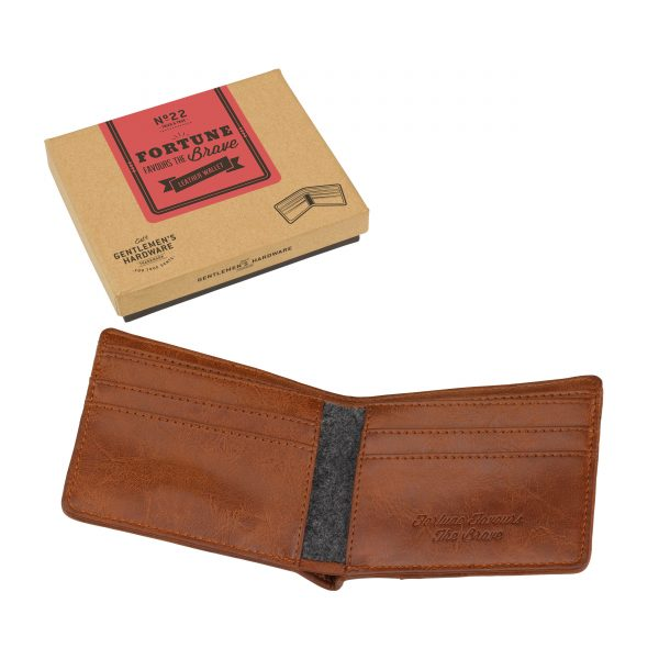 Gentleman's Hardware Leather Wallet