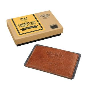 Gentleman's Hardware Leather Card Wallet