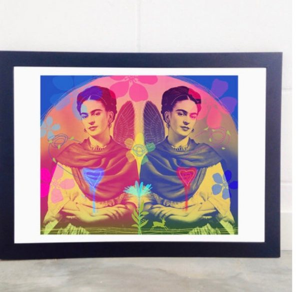 The Two Fridas Print