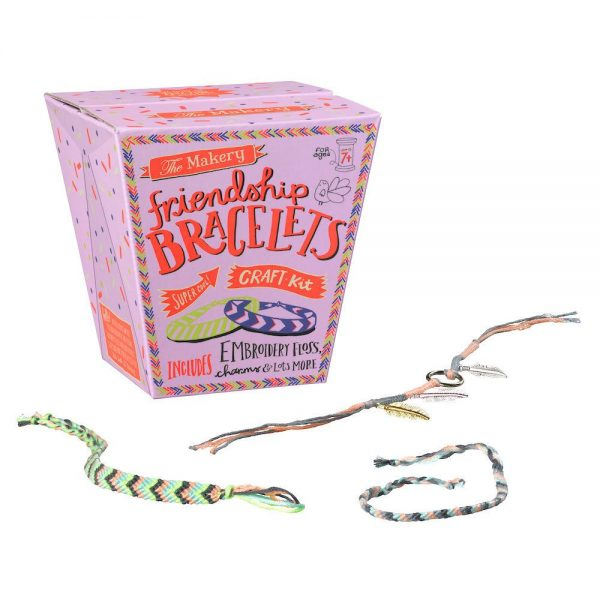 Makery Friendship Bracelet Kit