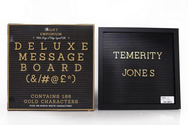 Boho Deluxe Message Board
