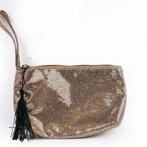 Boudoir Gold Make Up Bag