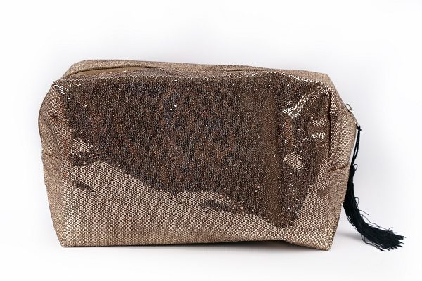 Boudoir Gold Wash Bag