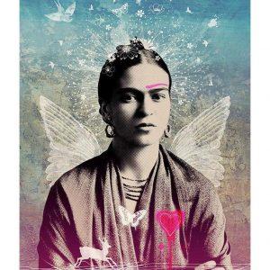 Viva la Frida A3 Print