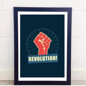 Revolution A3 Print