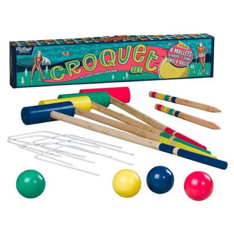 Ridley's Croquet Set