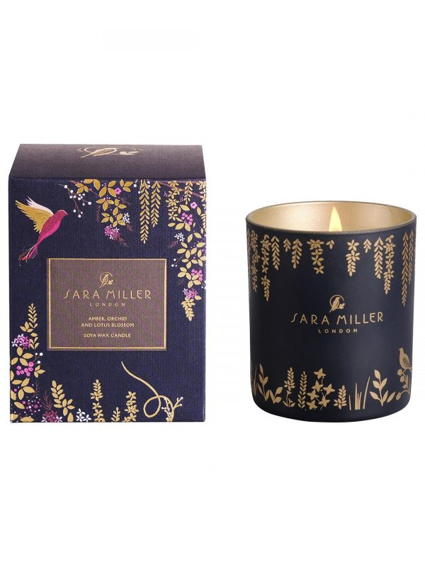 Sarah Miller Amber, Orchid & Lotus Candle