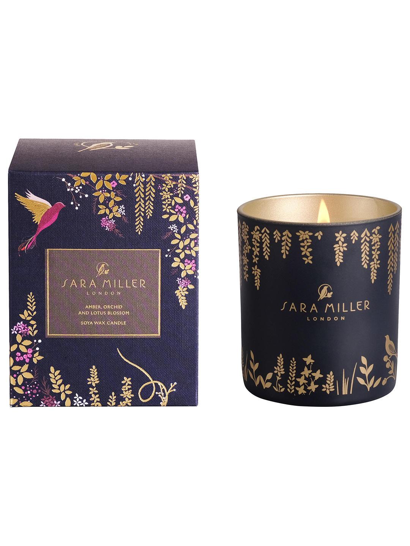 Sarah Miller Amber, Orchid & Lotus Candle