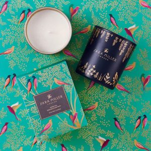 Sara Miller White Tea, Bergamot & Mint Candle